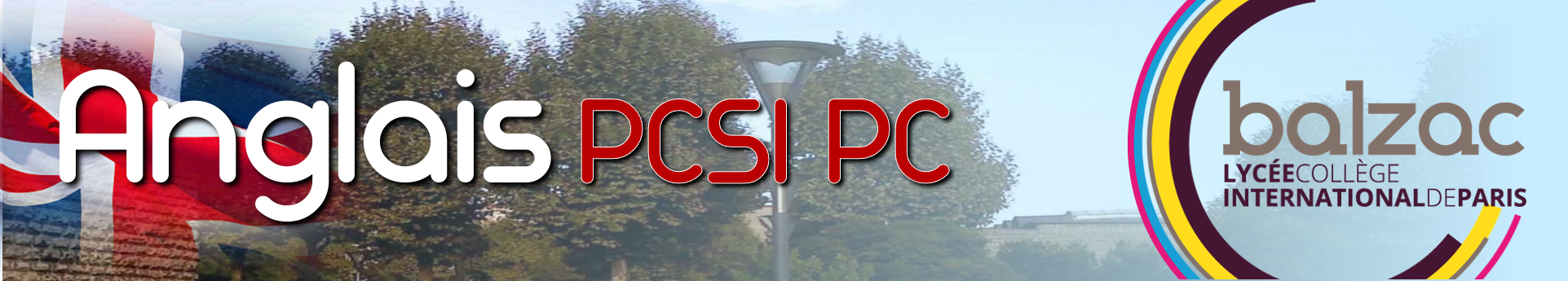 Anglais en Prépa PCSI et PC